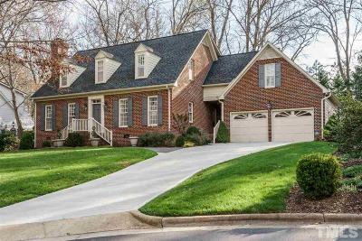 Cary Single Family Home Contingent: 110 Waxwood Lane