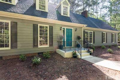 Raleigh Single Family Home For Sale: 10004 Whitestone Road