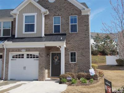 Cary Townhouse For Sale: 468 Panorama View Loop