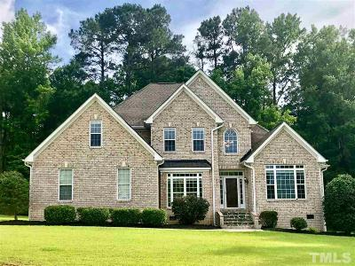 Angier Single Family Home For Sale: 215 Swan Lane