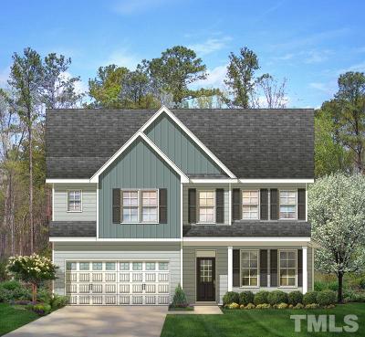 Clayton Single Family Home Pending: 78 S Porcenna Lane #38