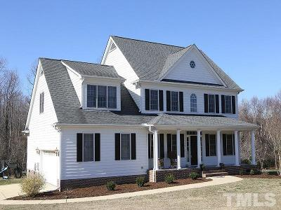 Holly Springs Single Family Home For Sale: 1420 Hopson Downs Court