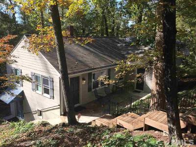 Chapel Hill Single Family Home Pending: 505 Pine Bluff Trail