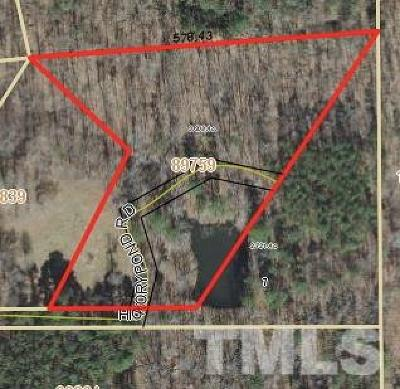 Chatham County Residential Lots & Land For Sale: 419 Hickory Pond Road