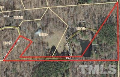 Chatham County Residential Lots & Land For Sale: 435 Hickory Pond Road