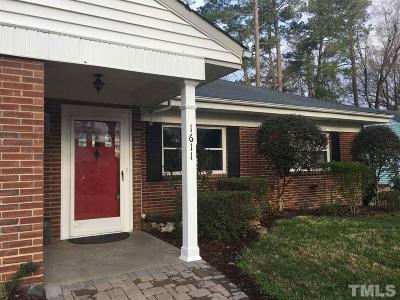 Durham Single Family Home For Sale: 1611 Delaware Avenue