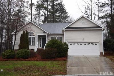 Creedmoor Single Family Home Contingent: 2805 Rogers Court