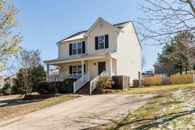 Knightdale Single Family Home For Sale: 820 Willowedge Court