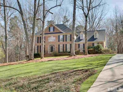 Raleigh Single Family Home Contingent: 220 Dalton Drive