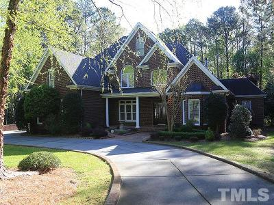 Raleigh Single Family Home For Sale: 5220 Deergrass Court