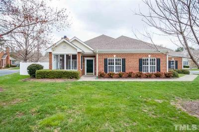 Raleigh Townhouse For Sale: 4803 Ludwell Branch Court
