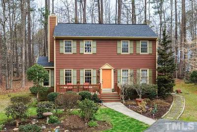 Carrboro Single Family Home Contingent: 309 Bolin Forest Drive