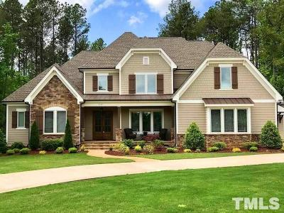 Wake Forest Single Family Home For Sale: 7133 Cove Lake Drive