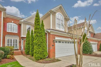 Raleigh Townhouse For Sale: 9557 Brookchase Drive