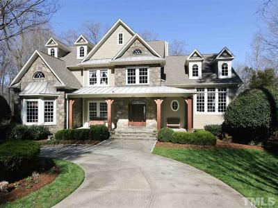 Chapel Hill Single Family Home For Sale: 306 Lake Manor Road