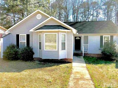 Sanford NC Single Family Home For Sale: $129,900