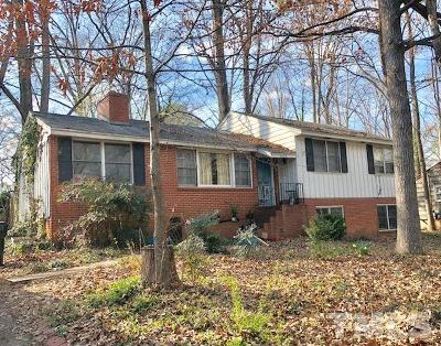 Chapel Hill Single Family Home Pending: 420 Ridgefield Road