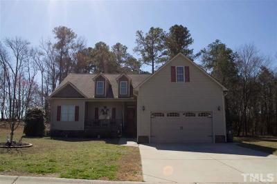 Benson Single Family Home For Sale: 112 Belle Meade Court