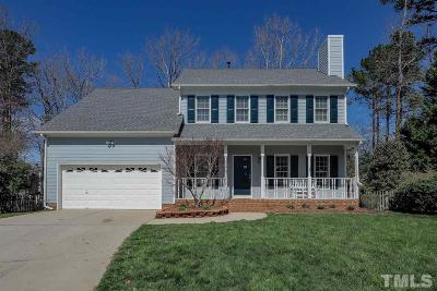 Cary Single Family Home Contingent: 108 Cibola Drive