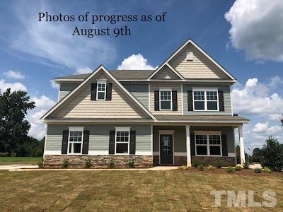 Louisburg Single Family Home For Sale: 10 Post Oak Drive