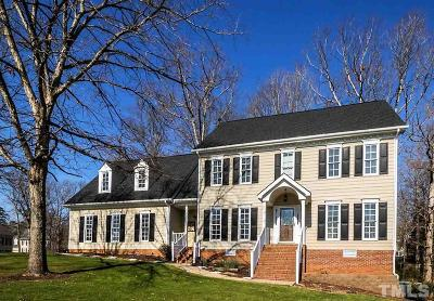 Cary Single Family Home Contingent: 103 Whittlewood Drive