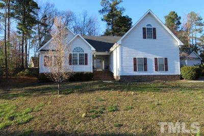 Creedmoor Single Family Home Contingent: 2803 Rogers Court