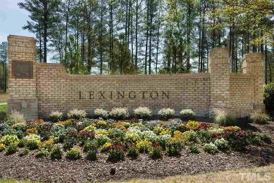 Apex Residential Lots & Land For Sale: 47 Lexington Drive