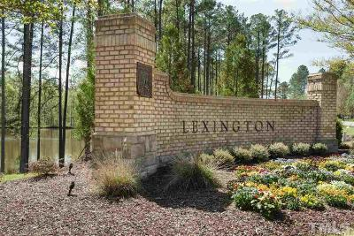 Apex Residential Lots & Land For Sale: 301 Lexington Drive