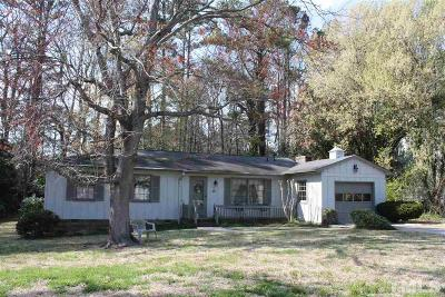 Raleigh Single Family Home For Sale: 4805 Sweetbriar Drive