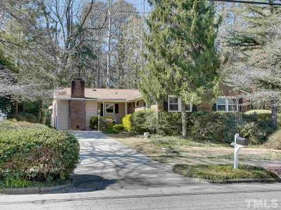 Raleigh Single Family Home Pending: 4513 Latimer Road