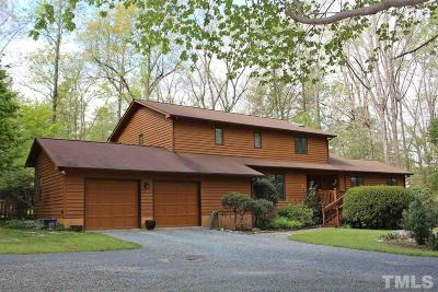 Chapel Hill Single Family Home For Sale: 1923 Price Creek Road