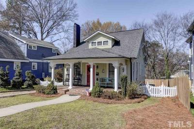Raleigh Single Family Home For Sale: 1217 Courtland Drive