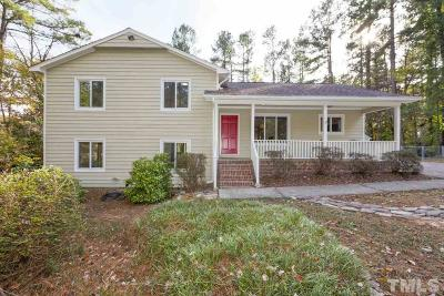 Raleigh Single Family Home Contingent: 4401 Sprague Road