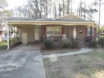 Durham Single Family Home Contingent: 4302 Newby Drive