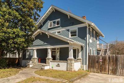 Durham Single Family Home For Sale: 1306 N Mangum Street