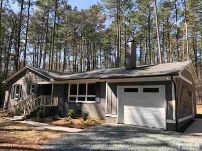 Chapel Hill Single Family Home For Sale: 5602 Wendell Road