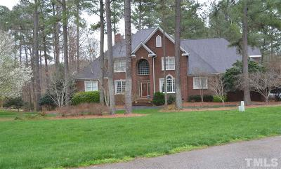 Raleigh Single Family Home For Sale: 5232 Wildmarsh Drive