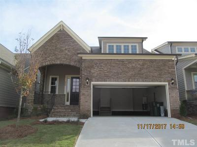 Cary NC Single Family Home Pending: $435,040
