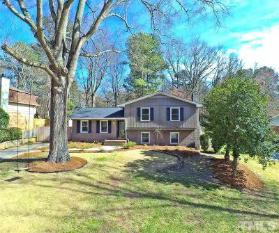 Cary NC Single Family Home For Sale: $300,000