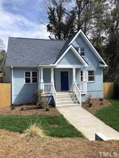 Durham Single Family Home For Sale: 1201 South Street