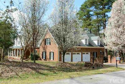 Raleigh Single Family Home For Sale: 2901 Deer Manor Drive