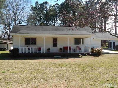 Knightdale Single Family Home For Sale: 1020 Mallard Pond Road