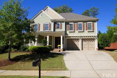 Holly Springs Single Family Home For Sale: 204 Hidden Stream Drive