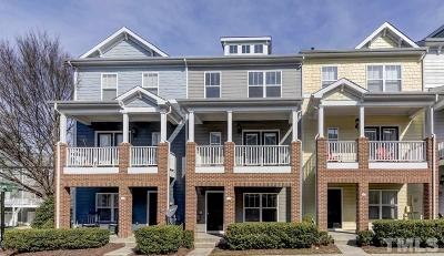 Cary Townhouse For Sale: 318 Kinellan Lane