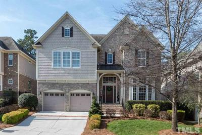 Raleigh NC Single Family Home For Sale: $608,000