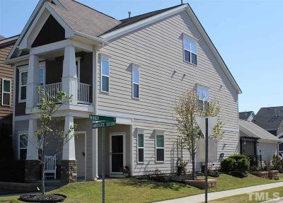 Apex Single Family Home For Sale: 997 Ambergate Station