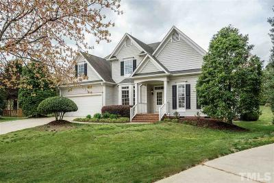 Cary Single Family Home Contingent: 105 Bowcastle Court