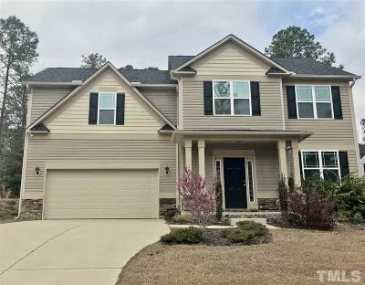 Angier Single Family Home Pending: 186 Timberland Drive