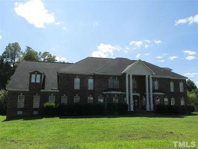 Wendell Single Family Home Pending: 6324 Old Mill Farm Road