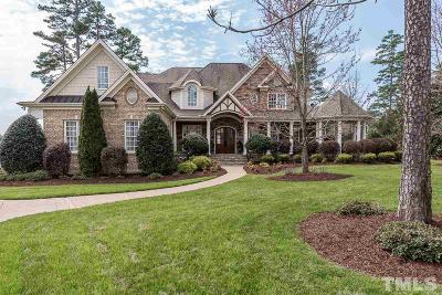 Wake Forest Single Family Home For Sale: 1501 Barony Lake Way